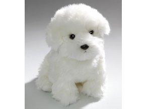 Plyšový pes maltézák 31 cm - plyšové hračky