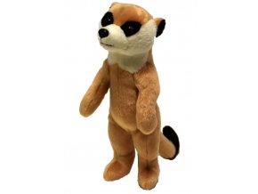 Plyšová surikata 24 cm - plyšové hračky