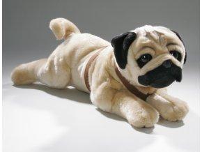 Plyšový mops 58 cm - plyšové hračky