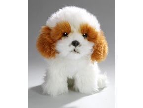 Plyšový pes Shih-tzu 38 cm - plyšové hračky