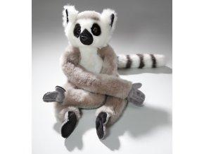 Plyšový lemur 42 cm - plyšové hračky