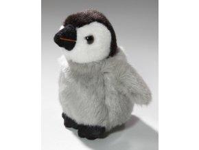 Plyšový tučňák mládě 12 cm - plyšové hračky