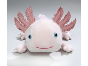 Plyšový axolotl mexický - vodní dráček 33 cm