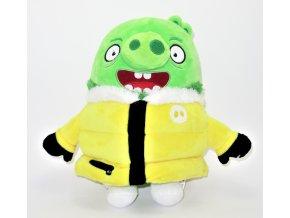 Plyšový Leonard v bundě 25 cm - plyšáci Angry Birds