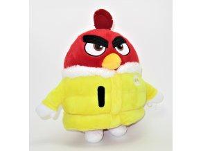 Plyšový Ruďák v bundě 25 cm - plyšáci Angry Birds