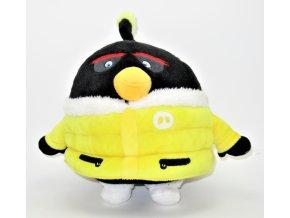 Plyšový Bombas v bundě 25 cm - plyšáci Angry Birds