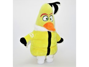 Plyšový Žluťas v bundě 25 cm - plyšáci Angry Birds