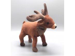 Plyšový jelen 21 cm - plyšové hračky