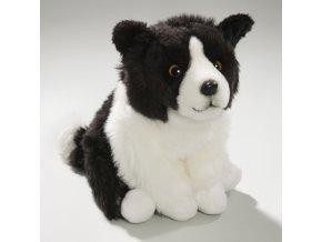 Plyšový pes border kolie 22 cm - plyšové hračky