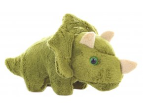 Plyšový triceratops 14 cm - plyšové hračky