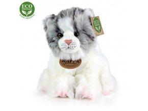 Plyšová kočka 17 cm - plyšové hračky