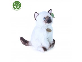 Plyšová kočka siamská 25 cm - plyšové hračky