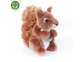 Plyšová veverka 18 cm - plyšové hračky