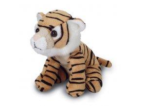 Plyšový tygr 14cm - plyšové hračky