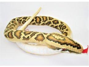 Plyšový had 180 cm - plyšové hračky