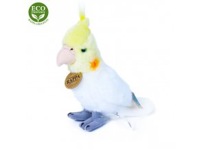 Plyšový papoušek korela 18 cm - plyšové hračky