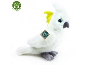 Plyšový kakadu 17 cm - plyšové hračky