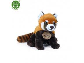 Plyšová panda červená 20 cm - plyšové hračky