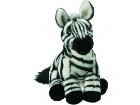 Plyšová zebra 30 cm - plyšové hračky
