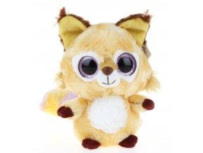 Plyšová liška Yoo Hoo 14cm - plyšové hračky