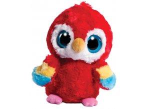 Plyšový Yoo Hoo papoušek 15cm - plyšové hračky