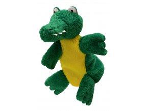 Maňásek krokodýl 25cm - maňásci