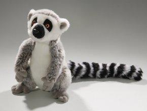 Plyšový lemur 21 cm - plyšové hračky