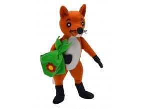 Plyšová Kmotra Liška 20 cm - plyšové hračky