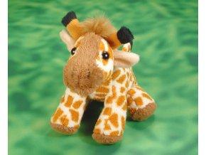 Plyšová žirafa 12 cm - plyšové hračky