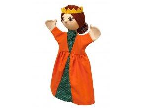 Maňásek královna 31 cm - maňásci
