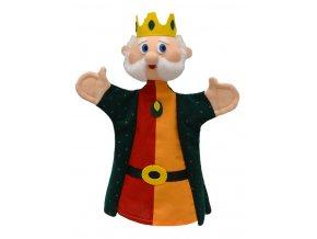 Maňásek král 29 cm - maňásci