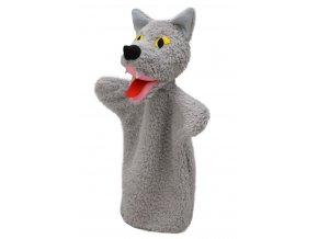 Maňásek vlk 32 cm - maňásci
