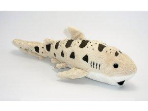 Plyšový žralok leopardí 31cm - plyšové hračky