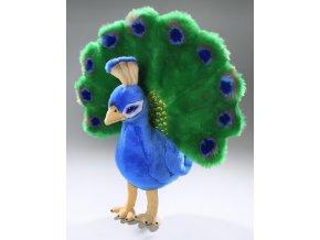 Plyšový páv velký 35 cm - plyšové hračky