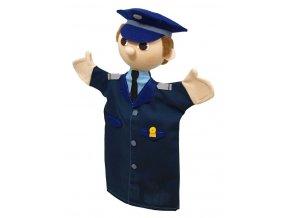 Maňásek policista Leopold 26cm - maňásci
