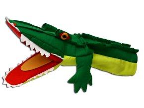 Maňásek krokodýl 42cm - maňásci