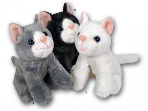Plyšová kočka 13cm - plyšové hračky