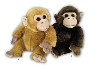 Plyšový šimpanz 16cm - plyšové hračky