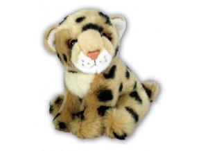 Plyšový leopard 17cm - plyšové hračky