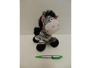 Plyšová zebra 20cm - plyšové hračky