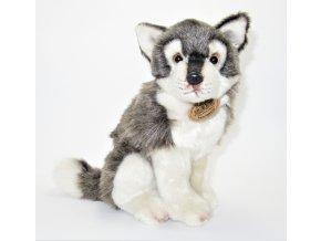 Plyšový vlk 27 cm - plyšové hračky