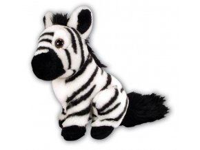 Plyšová zebra 18cm - plyšové hračky