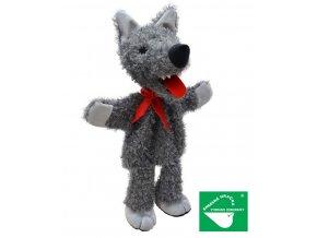 Maňásek vlk 36cm - maňásci