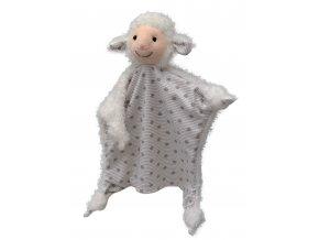Maňásek ovečka 30cm - maňásci