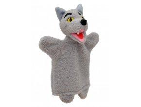 Maňásek vlk 30cm - maňásci
