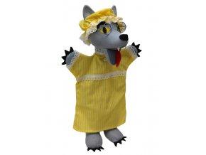 Maňásek vlk 30 cm - maňásci