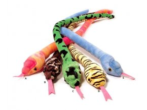 Plyšový had 80 cm - plyšové hračky