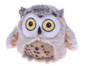 Plyšová sova 12 cm - plyšové hračky