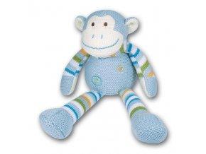 Pletená opice 30 cm
