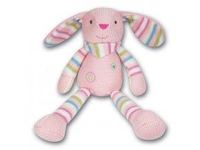 Pletený králíček 30 cm